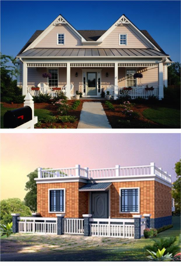 一层自建房别墅设计施工图设计套餐