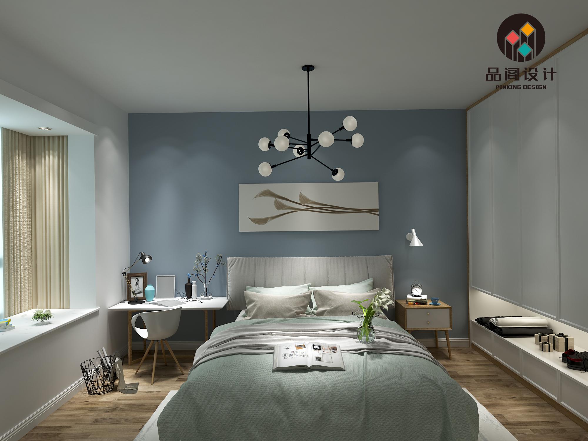 北欧风格设计装修效果图 室内装修设计效果图