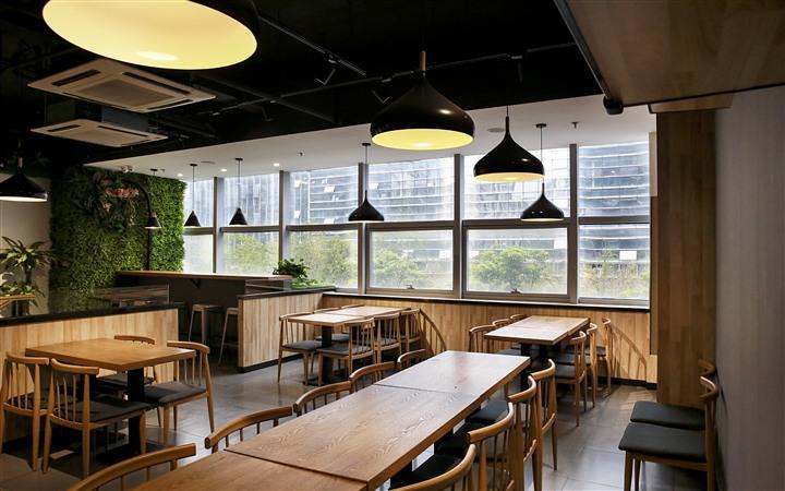 快餐店设计 奶茶店装修 烧烤店设计 室内设计