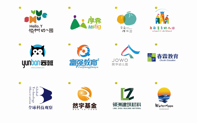 组长logo设计商标品牌标志设计餐饮互联网服装公司文艺卡通图片