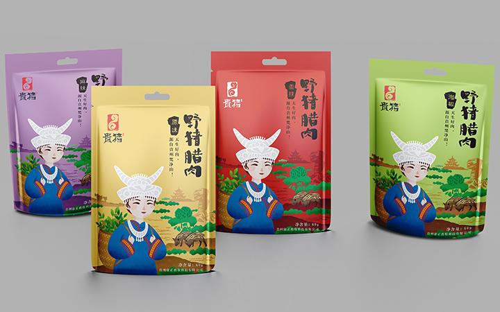 食品產品包裝袋包裝盒設計手繪插畫設計化妝品手提袋品牌包裝設計