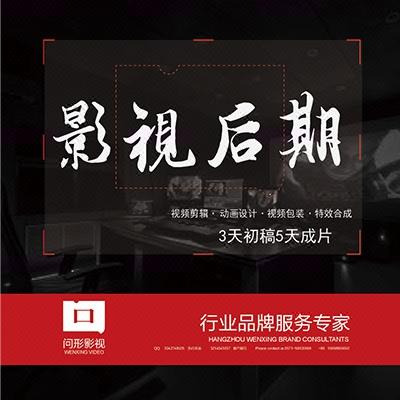 视频剪辑企业宣传片影视后期制作商业贸易后期栏目包装特效合成