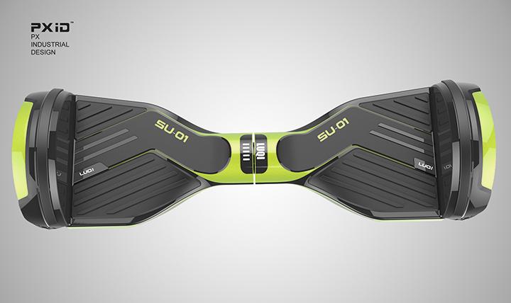 电动扭扭车设计 平衡车设计 滑板车设计 品向工业设计图片
