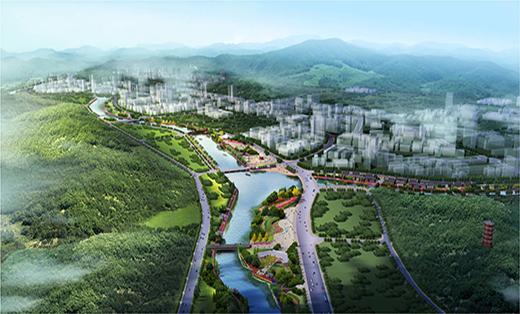 天柱县城三十里水景长廊景观规划设计