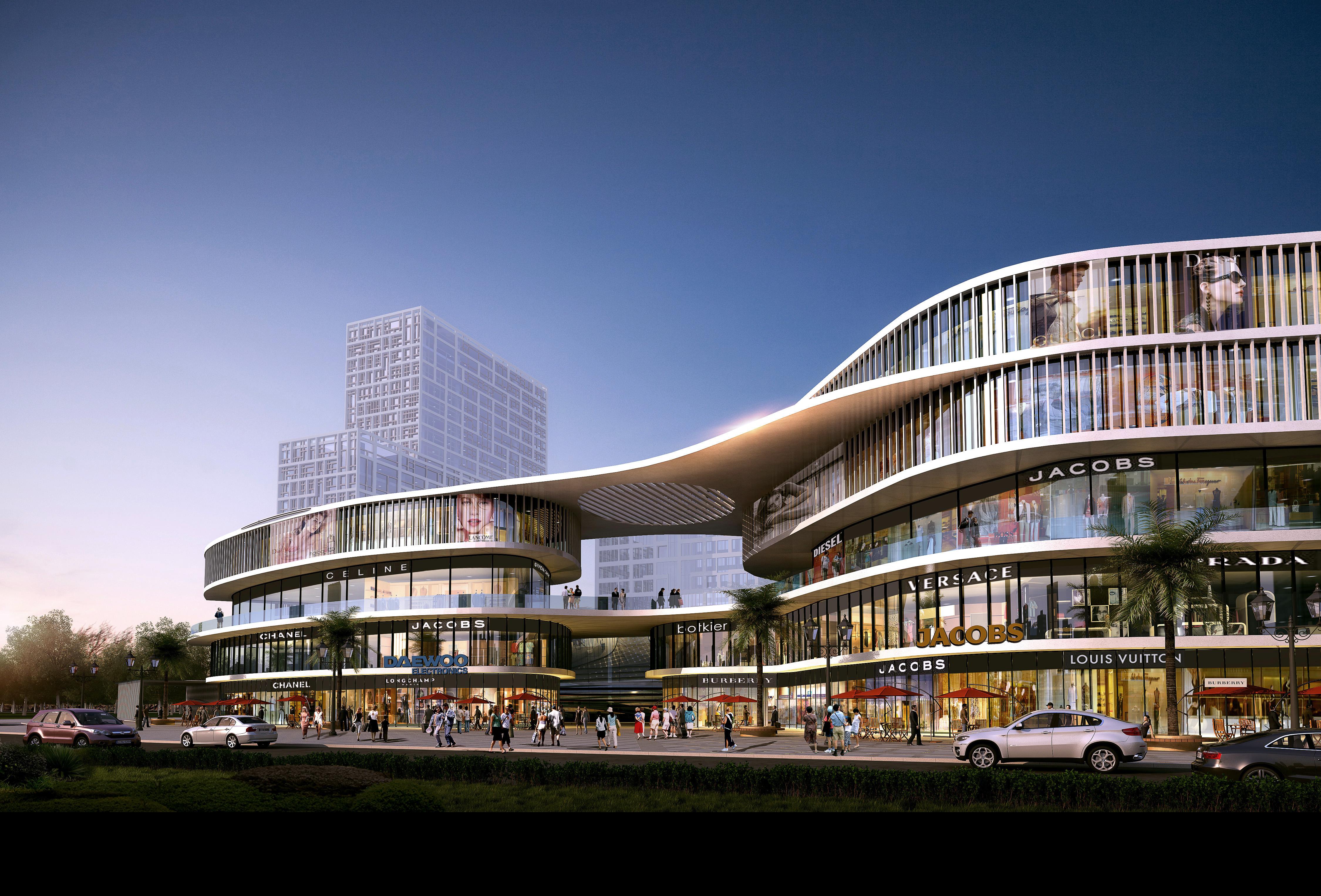 建筑设计-商业-学校-酒店-住宅-别墅