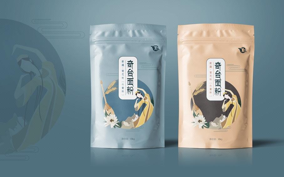 包装设计化妆品坚果零食农产品干货花茶叶酒类食品包装袋礼盒设计图片