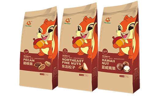 艺点-松鼠家坚果铺子包装设计