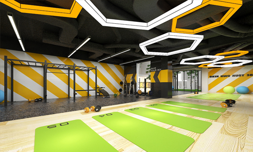 健身房主题设计