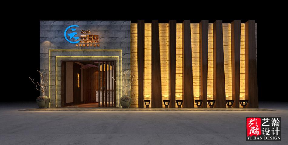 店鋪設計效果圖設計店面設計餐飲店鋪裝修設計服裝店面裝修設計
