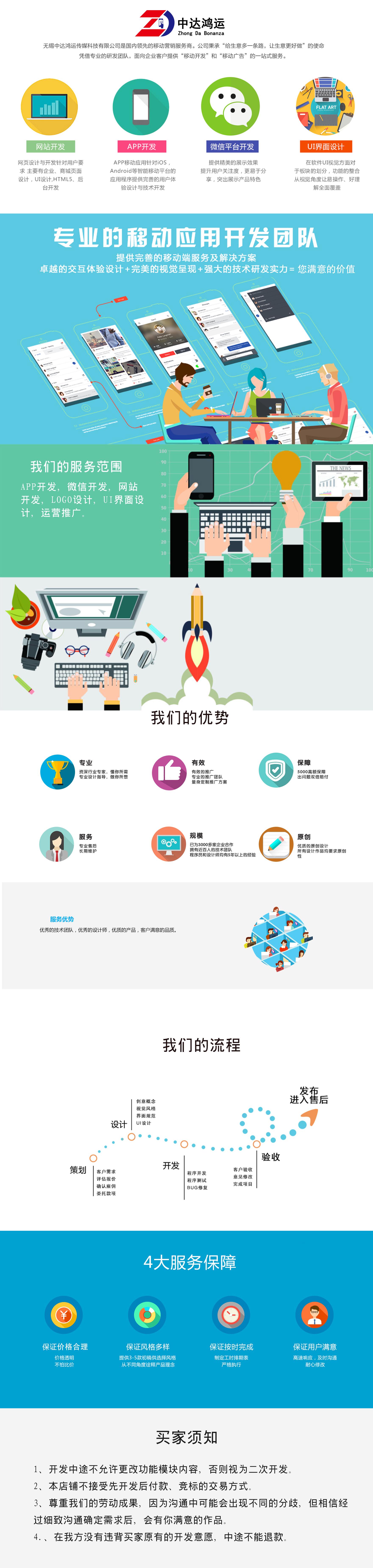 微信定制开发_微信开发-微信服务号-微信平台发三级分销开发-app商城开发5