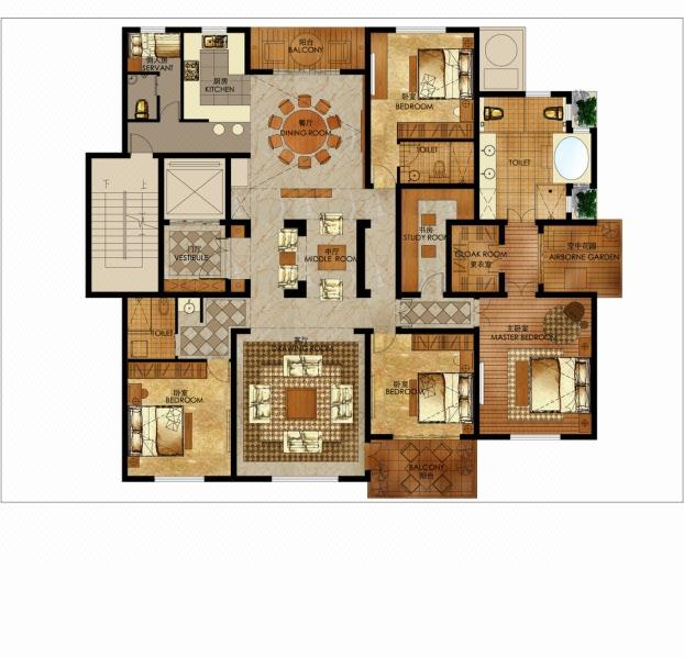 【八戒诚信月】私人定制、CAD图、自建房、别墅设计、户型设计
