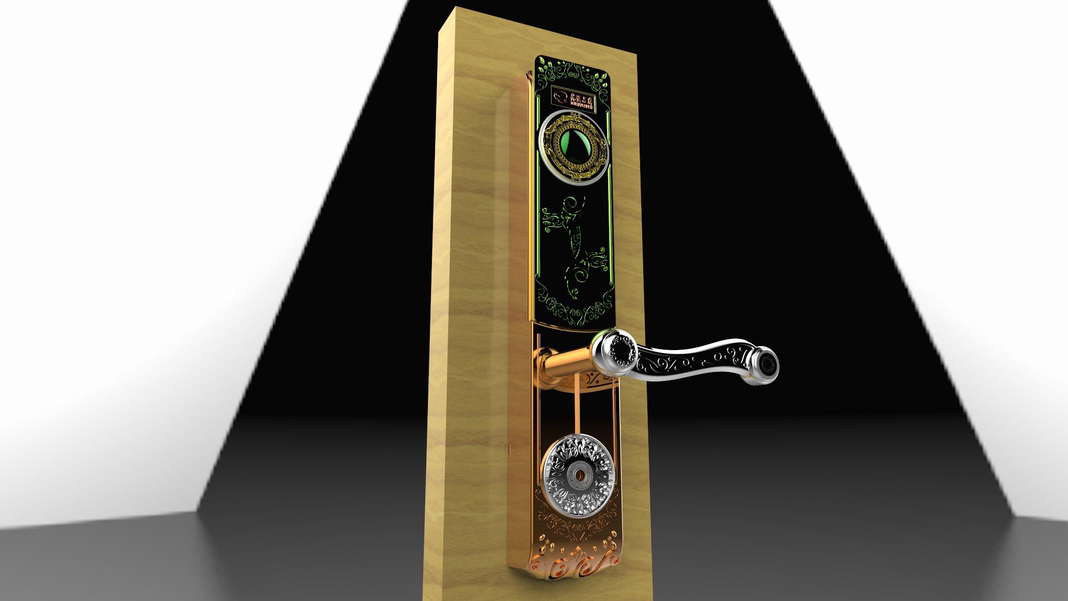 智能锁结构设计,智能家电结构设计,模具设计,效果图设计,建模