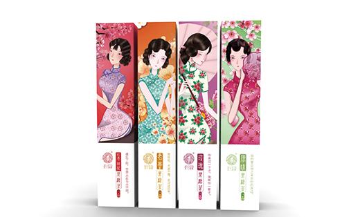 茶花姑娘全案及包装设计