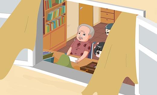 《华哥乔妹之信守望爱回家》系列动画