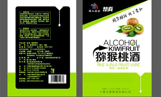 创立方-猕猴桃酒包装设计