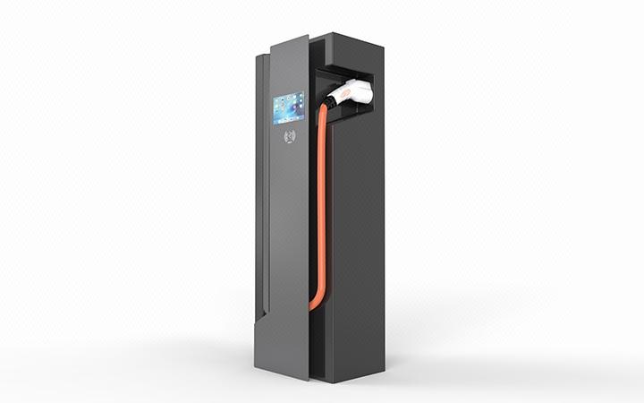 充电桩设计,汽车新能源充电桩,产品外观设计保证完成图片