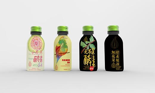 习春堂品牌酵素及饮料包装设计