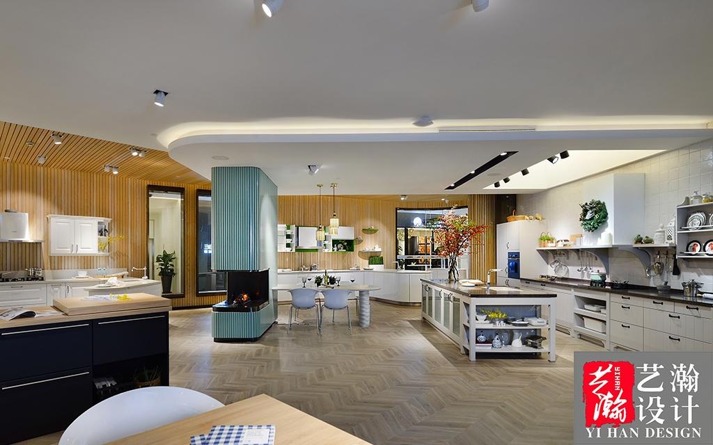 展厅设计/ 店铺门头装修设计 橱柜展厅设计 家具展厅图片