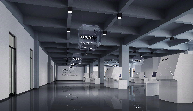 办公空间设计 办公大楼 众创办公空间 写字楼 服务区