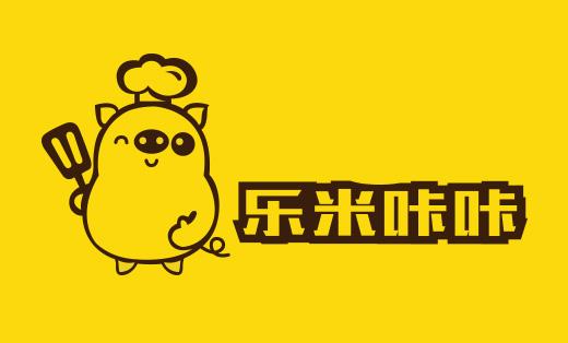 高端LOGO设计案例-乐米咔咔猪扒包