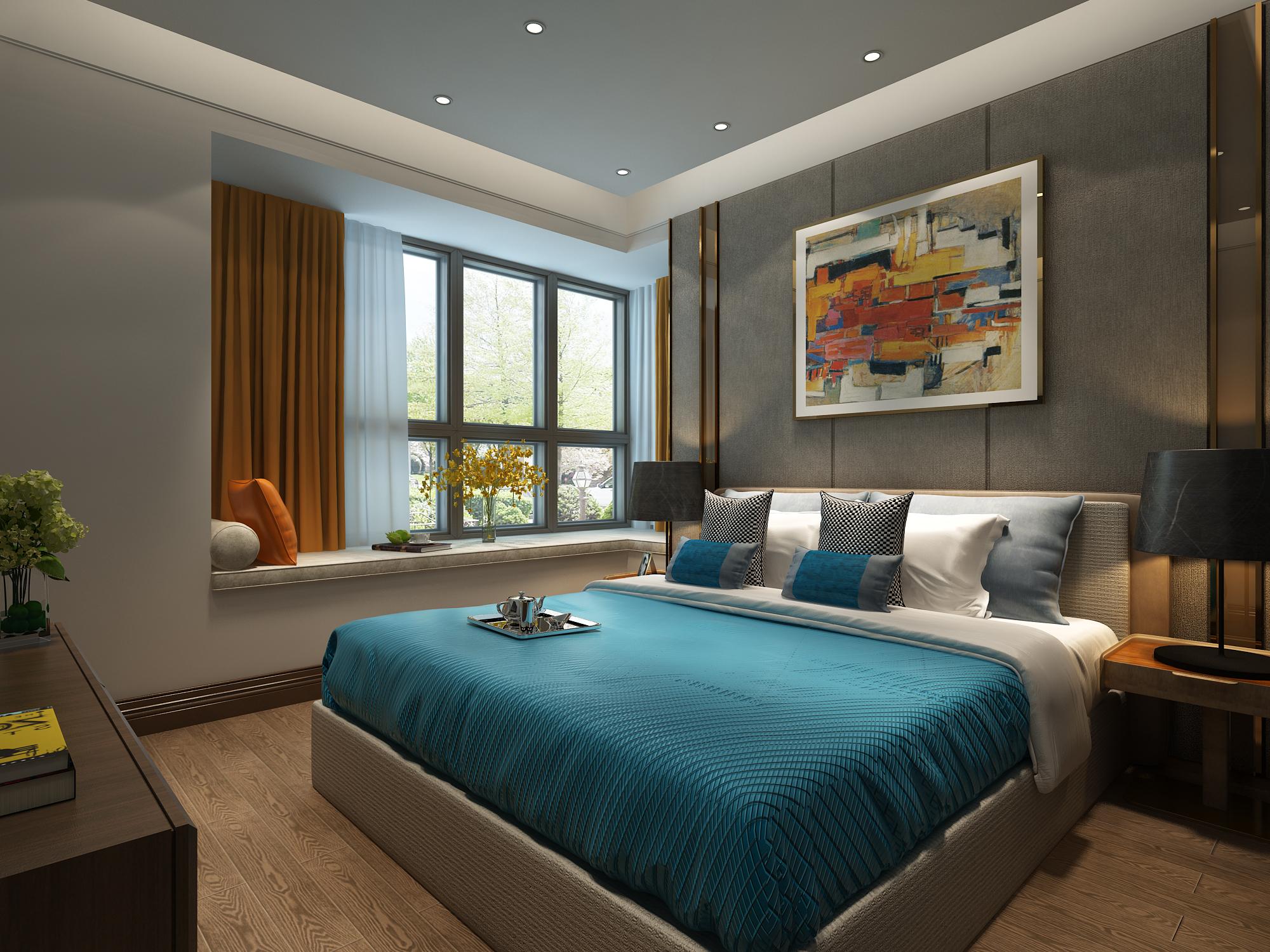 现代风格室内设计新房装修设计家装设计室内设计效果图施工图