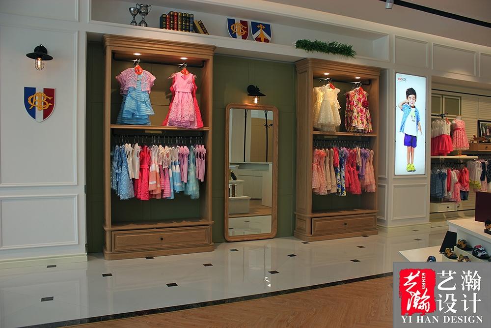 服装店效果图设计/餐饮店铺门头装修设计 童装店/女装