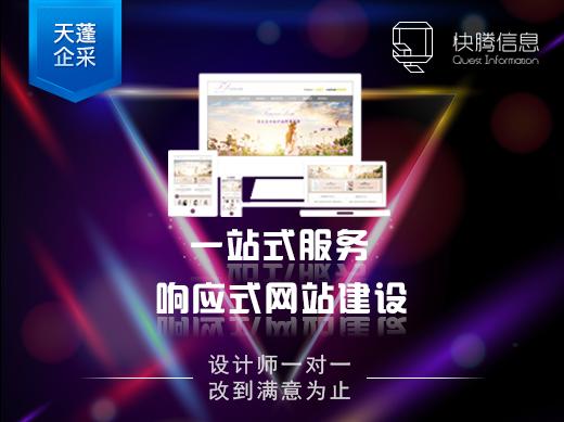 【天蓬企采】企业网站定制开发官网建设