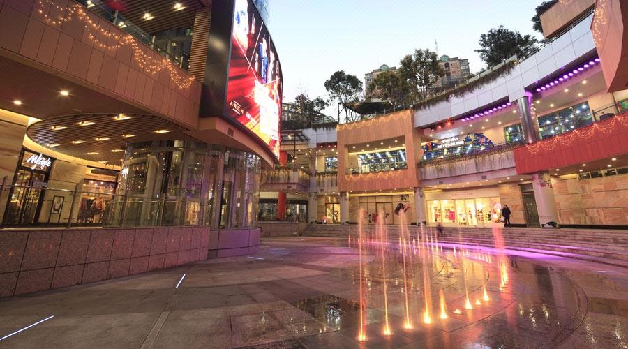 旱喷泉-商业入口广场旱喷泉设计