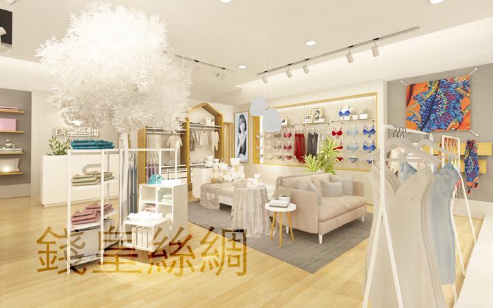si设计商业空间货柜门头形象墙中岛边厅专卖店服装餐饮美容零售