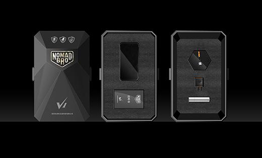 和谐品牌-游牧兄弟手机电子产品包装设计
