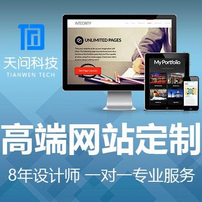 高端网站定制/开发/网站建设/网站设计/精美网站建设/做网站