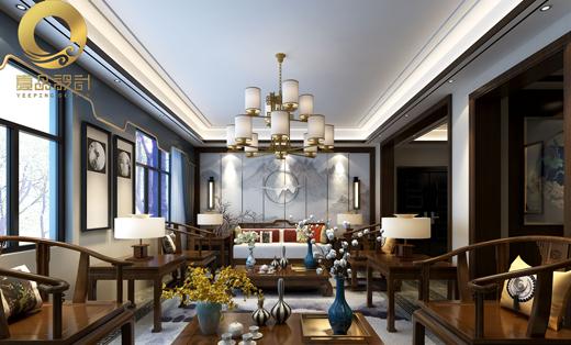 家装设计新房设计室内设计装修设计复式设计新中式风格效果图