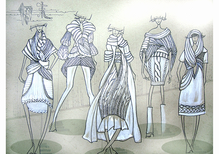 服装效果图设计服装效果图绘制服装设计原创设计服装款式设计图片