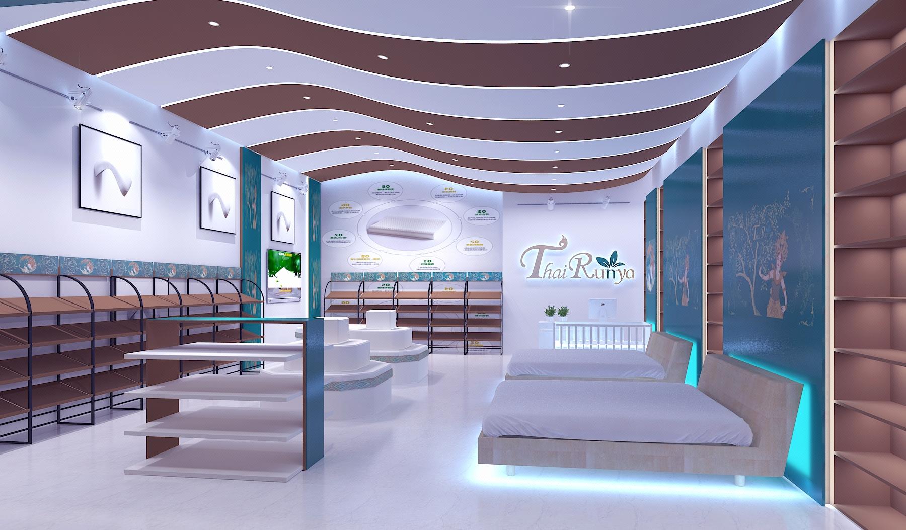 特产店铺v特产店面门头装修设计西餐厅咖啡厅西饼商铺芸树空间设计平面设计中减构是什么图片