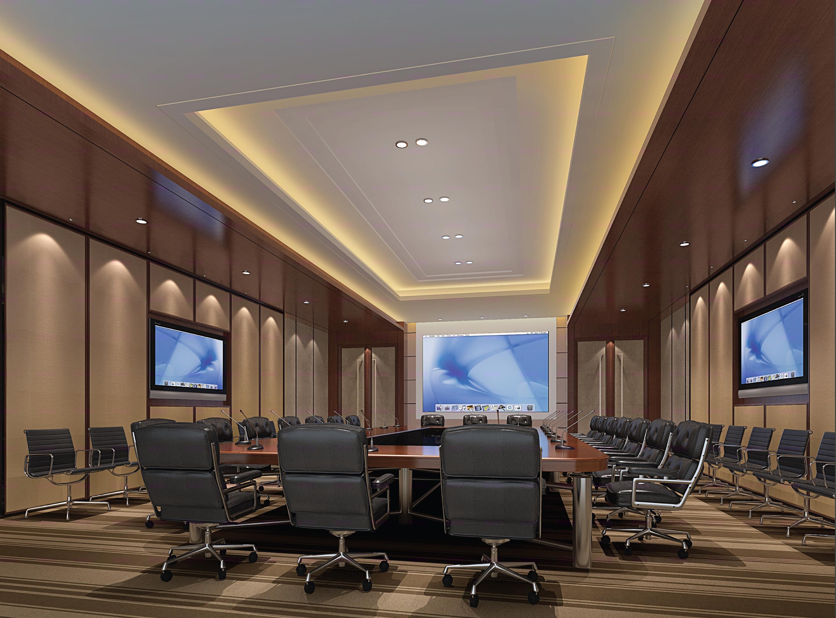 会议室效果图.办公室装修设计.接待