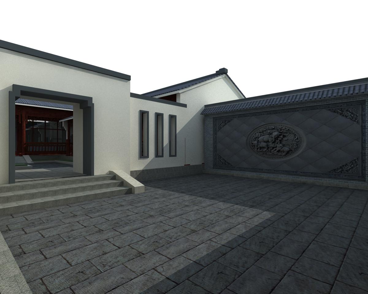 农村中式别墅设计