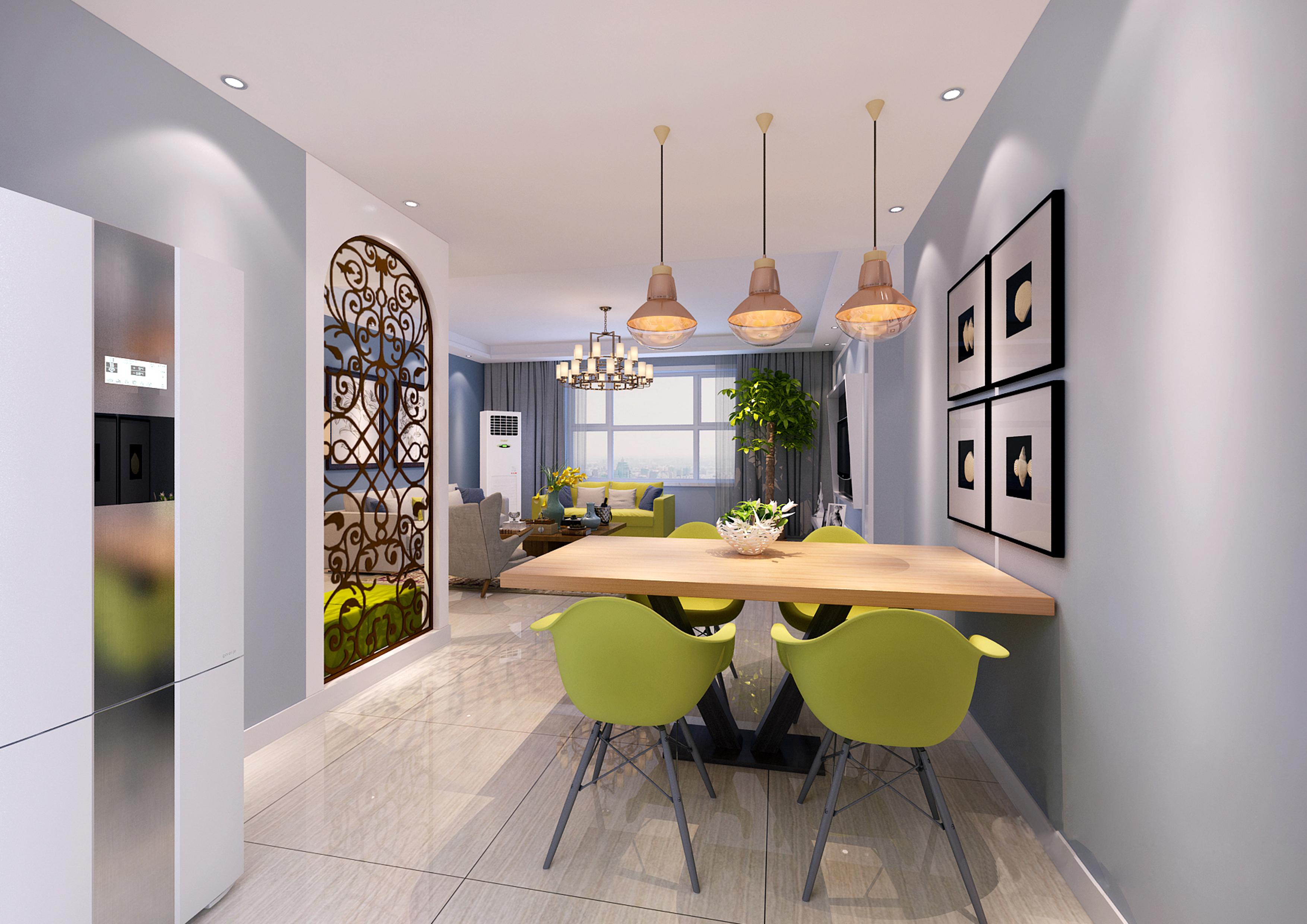 家裝設計效果圖別墅室內設計客廳餐廳廚房臥室書房公主房榻榻設計