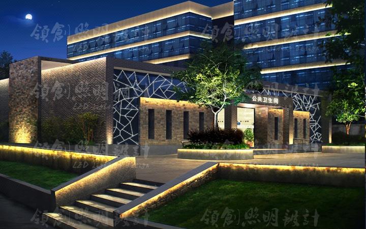 亮化灯光效果图动画图光亮工程设计景观夜景照明设计方案设计