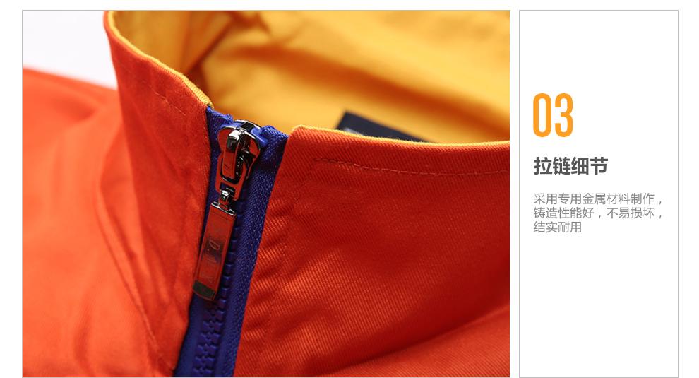 工作服装设计_依服宝 长袖工作服套装男纯棉春秋厂服加厚电焊工装汽修焊工耐磨13