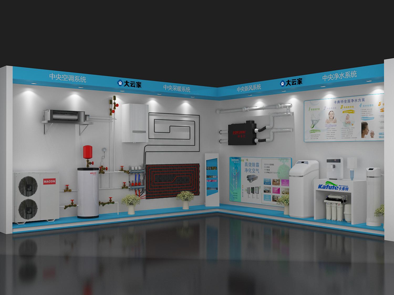 展厅设计展厅装修效果图党建展厅建材展厅工厂展厅展厅展示图片