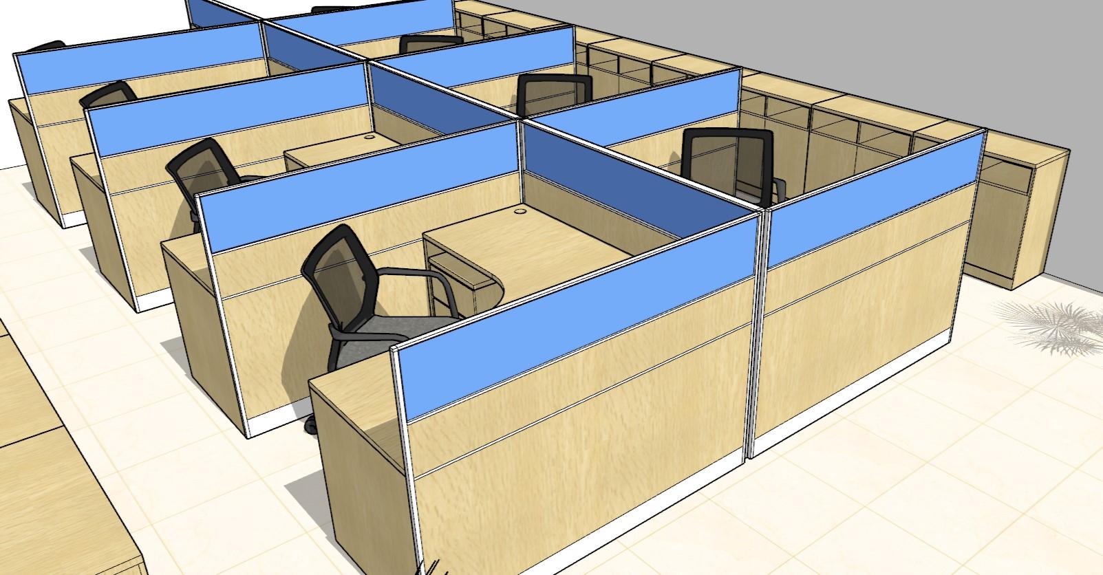 CAD绘图家具设计效果图三维画图摆放布置图cad建模偏转图片