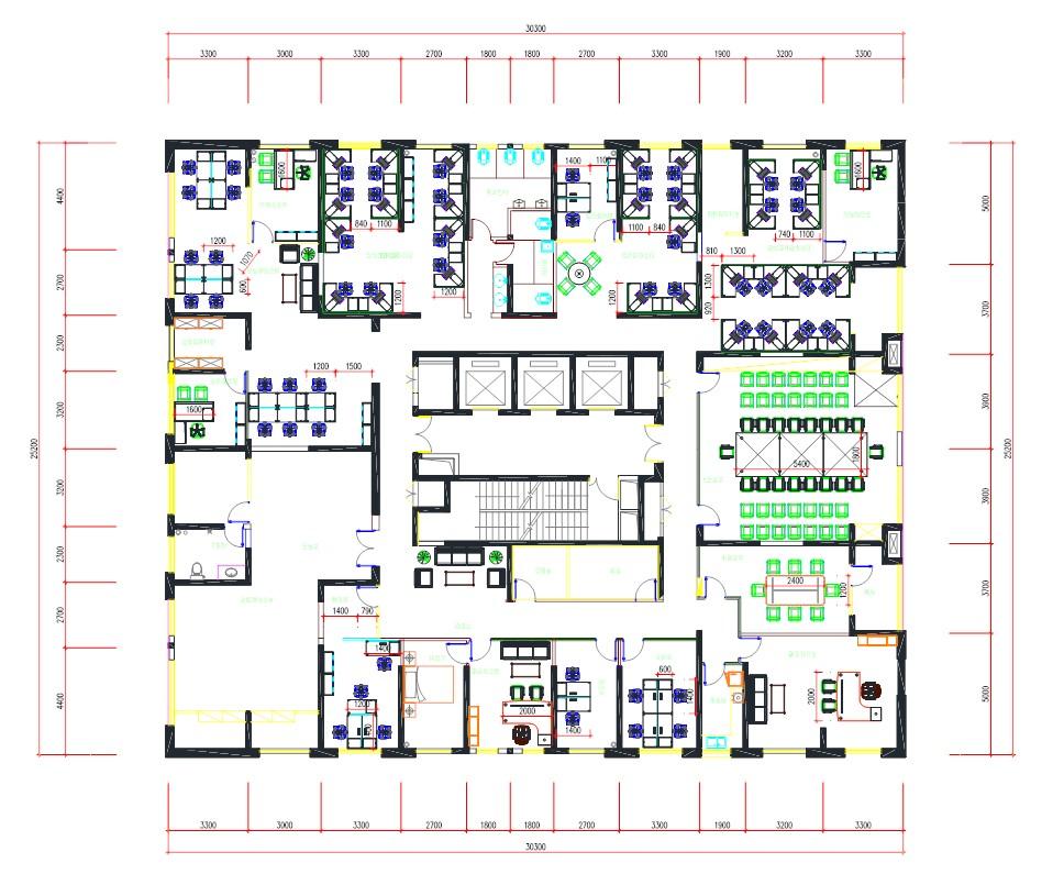 家具CAD制作平面图三维透视图制图及家具产cad色块怎么替换图片