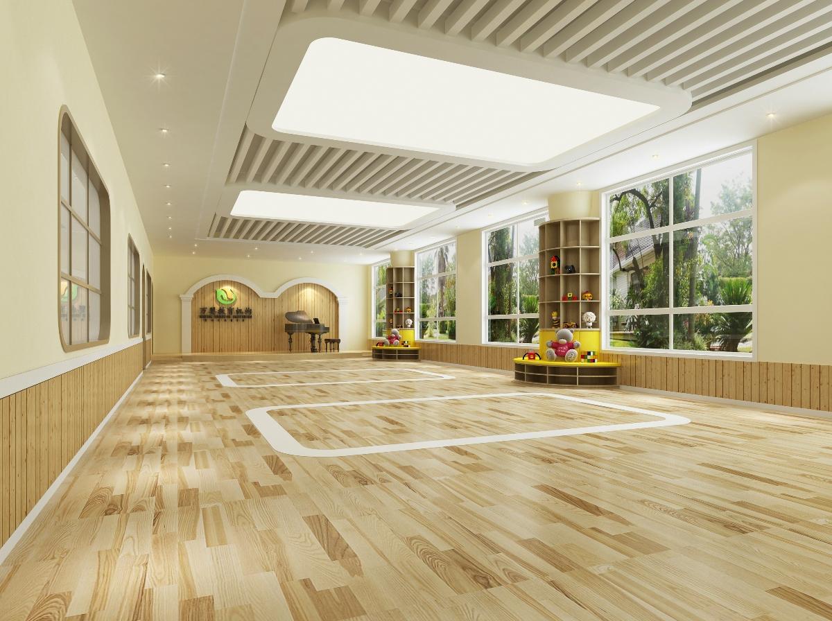 【公装设计-教育空间】幼儿园培训室内装修效果图设计