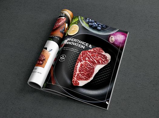 小猫-海报画册设计宣传册企业产品宣传单