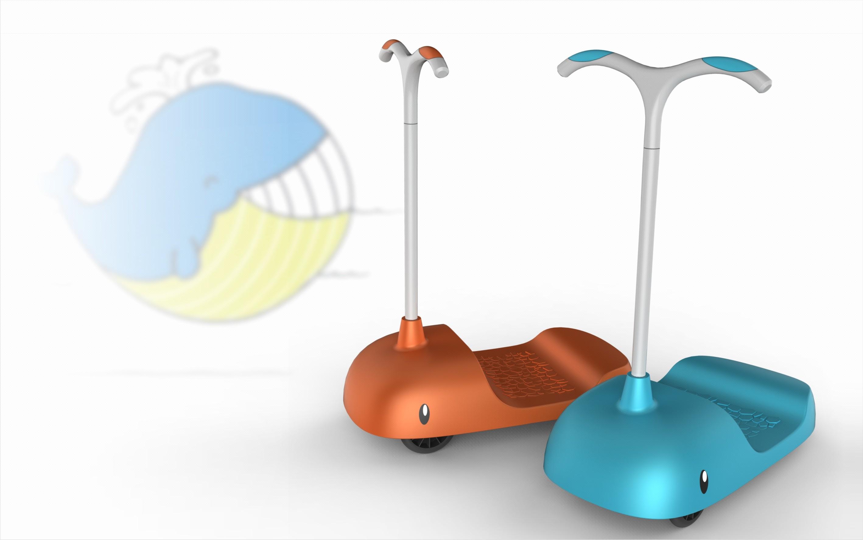 【儿童玩具】玩具车外观结构效果图3d建模手板产品工业设计典石
