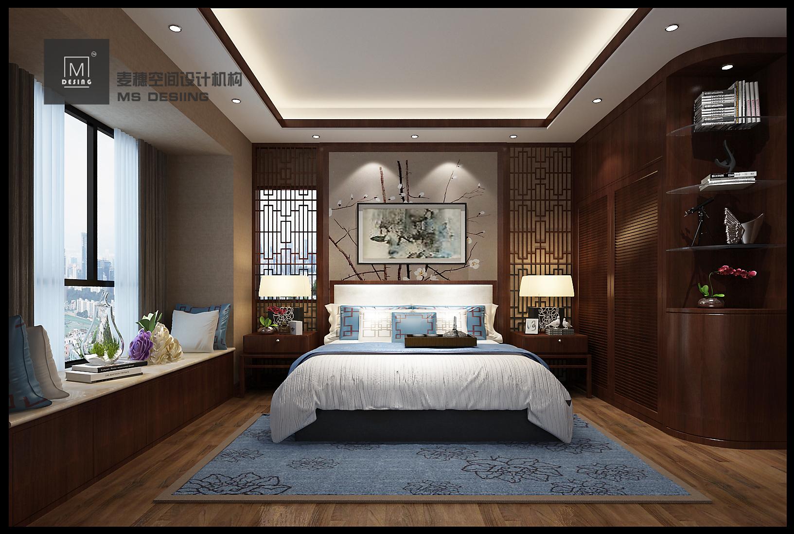 【麦穗】室内设计家装设计效果图设计别墅自建房新房设计装修设计