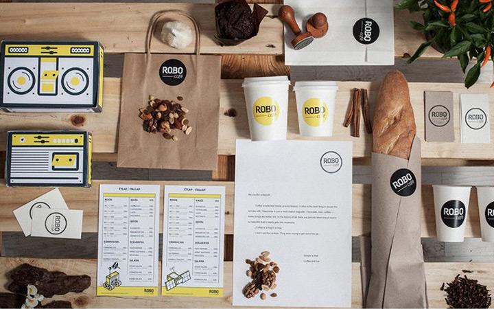 品牌平面设计企业餐饮vi应用系统设计产品手册彩页排版设计包装图片