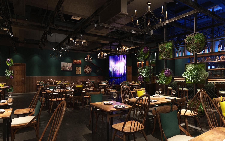 【店铺设计】餐饮门面装修设计/餐厅设计/公装设计/火锅店设计