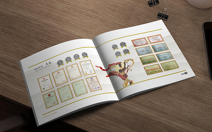 咔猫北京企业画册宣传册家居装饰建筑五金行业招商手册画册设计