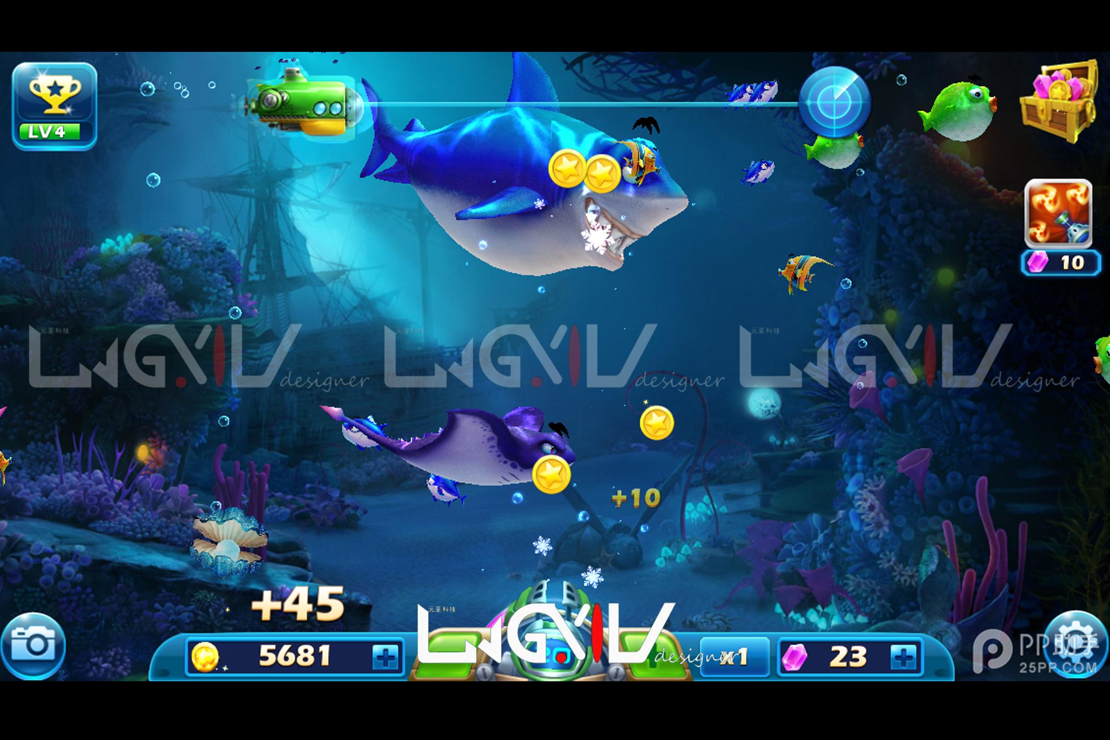捕鱼游戏定制开发